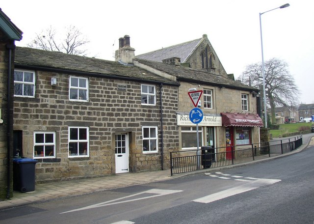 Queen's Parade, Main Street, Burley in Wharfedale