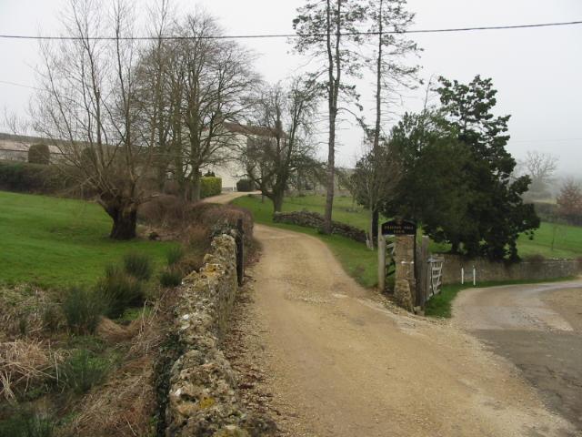 Road to Priston Farm
