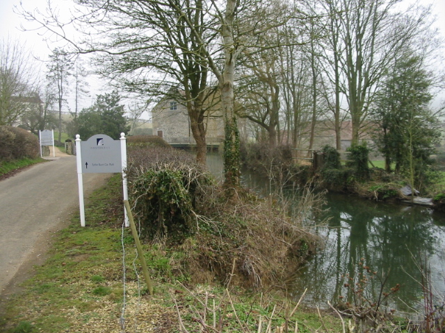 The water supply for Priston Mill