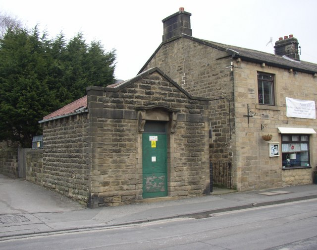 Electricity sub-station, Main Street, Burley in Wharfedale