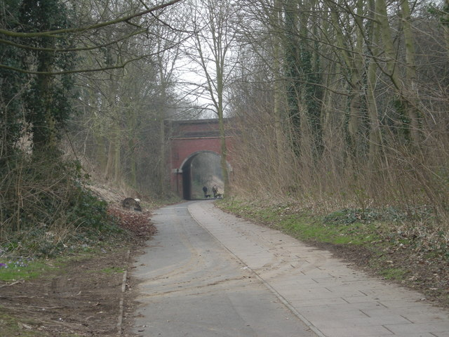 Silkin Way to Telford