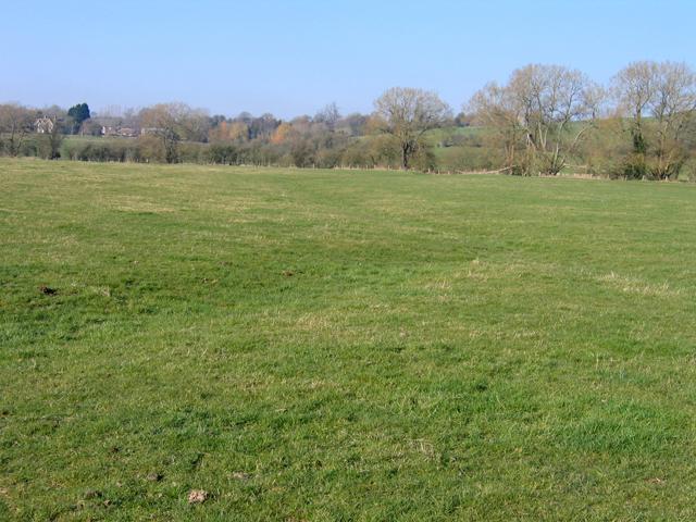 Meadows beside the Cowage Brook, Hilmarton, Wilts