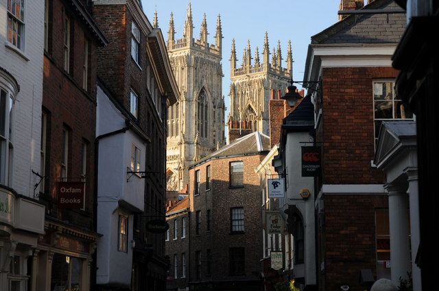 York Minster from Low Petergate
