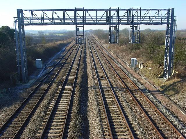 Railway near Grove