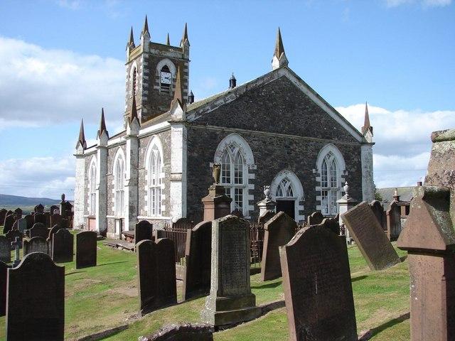 Dunscore Church & Churchyard