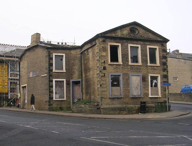 Derelict Building - King Cross Street