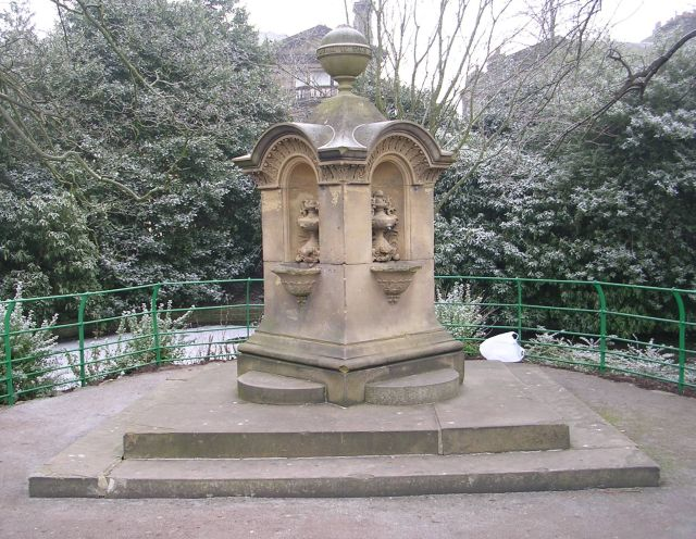 Drinking Fountain - People's Park