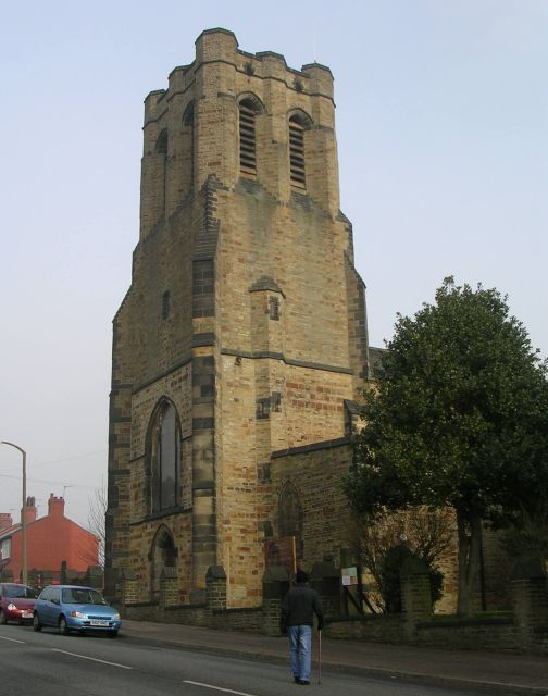 St Paul's Church - Queens Road, Halifax