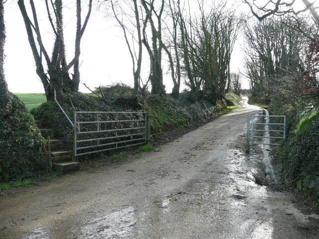 Track and bridleway