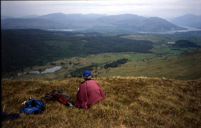 High Ground near Beinn Glas, Glen Lonan