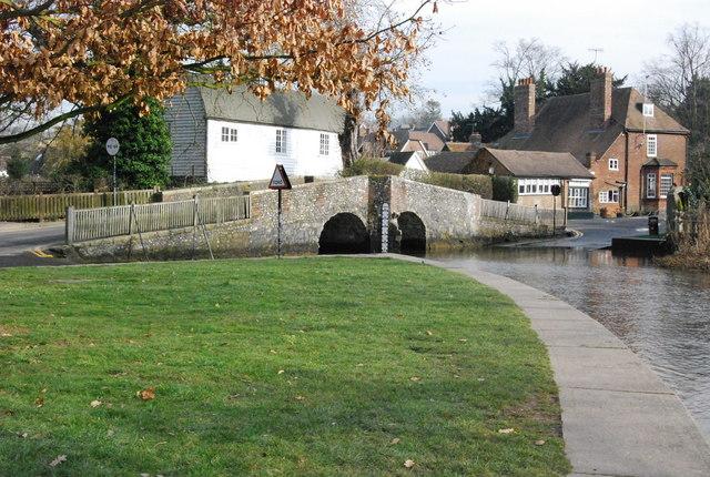 Eynsford - bridge and ford