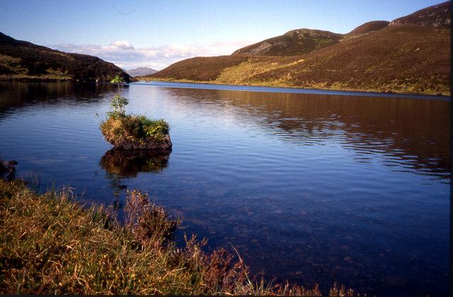 Unnamed Lochan at head of Eas na Buaile