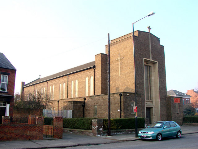 St Cuthbert's Roman Catholic Church, Yarm Road, Stockton on Tees