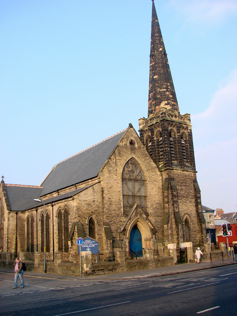 Stockton United Reformed Church, St Andrew & St George