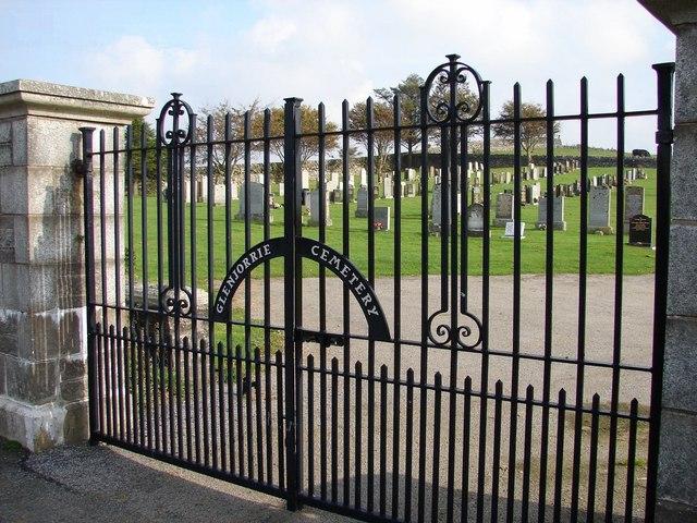 Glenjorrie Cemetery Gates, Glenluce