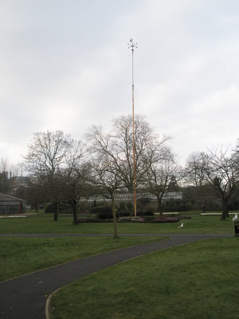 Weather  vane in Victoria Park