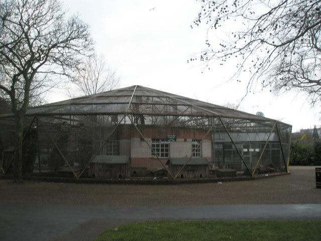 Aviary in Victoria Park