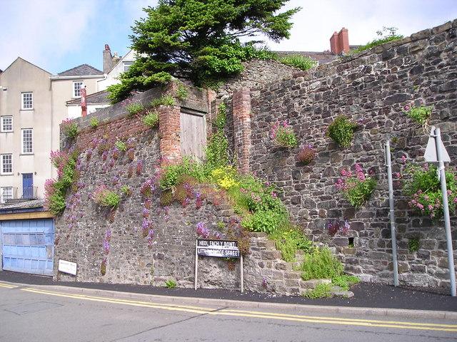 Old steps in Little Bridge Street