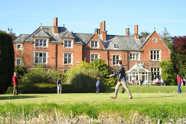 Croquet at Nantlys
