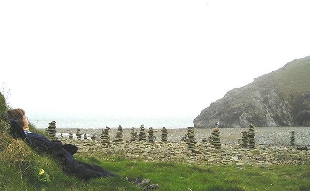 Bay below Castell bach