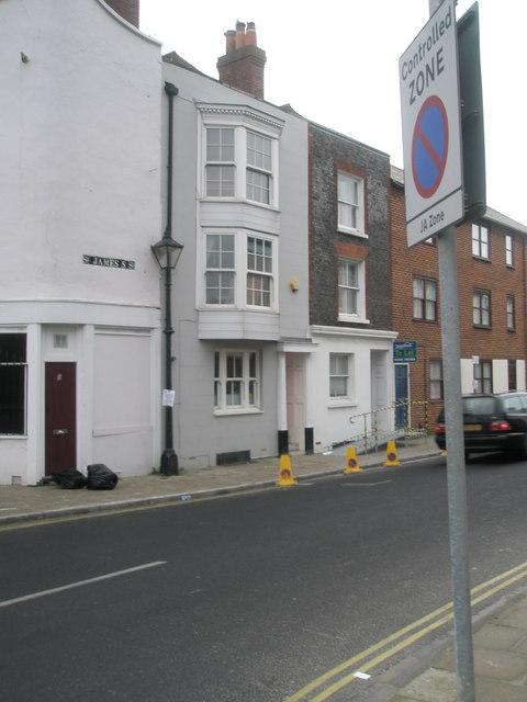 Georgian properties in Queen Street