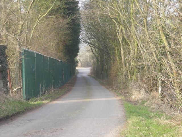 Lane beside Industrial Estate