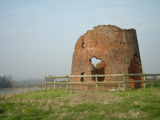 Shifnal windmill - what's left of it.