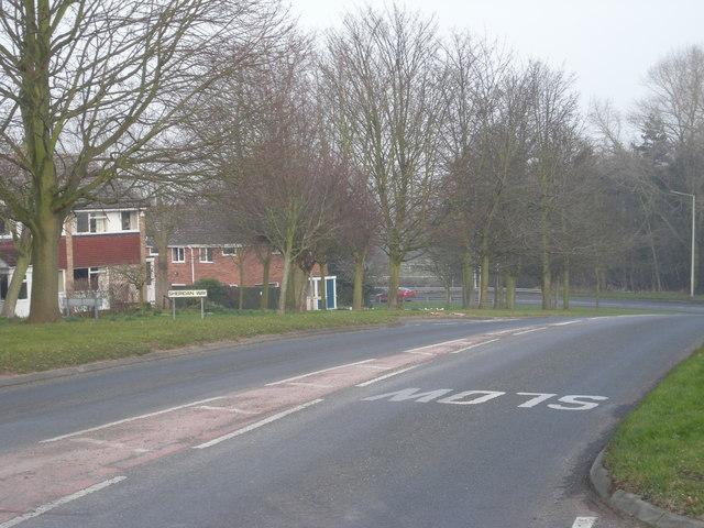 Sutton Hill perimeter road