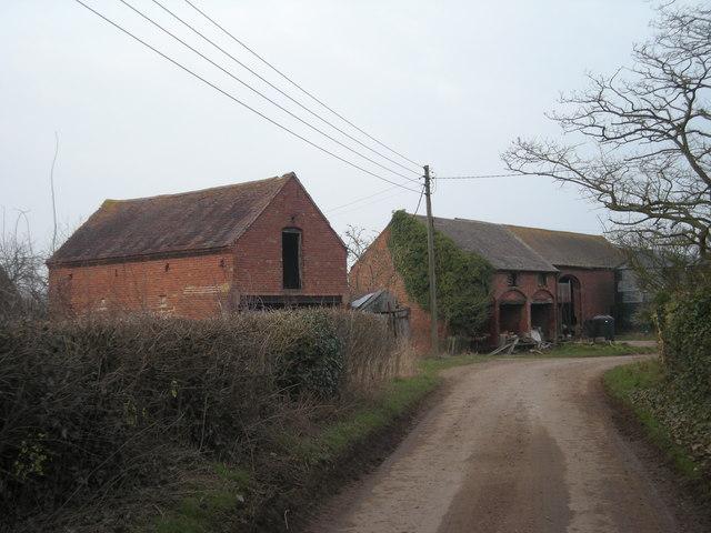 Farm buildings at Allscott