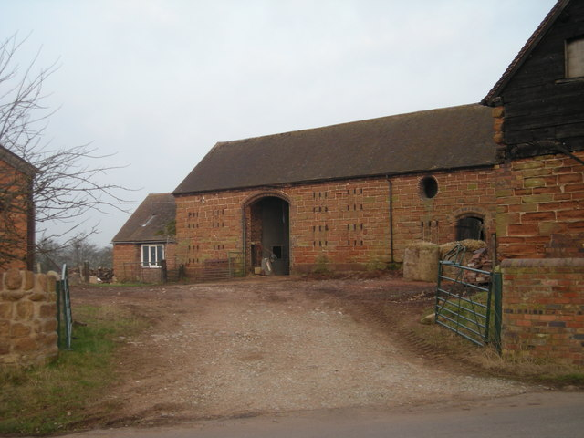 Farm buildings at Bromley