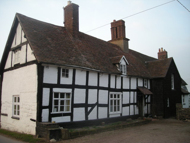 Half-timbered cottage at Bromley
