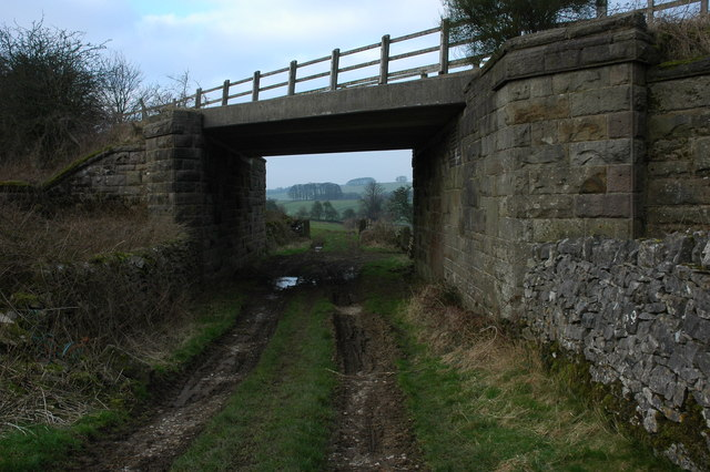 Tissington Trail railway bridge
