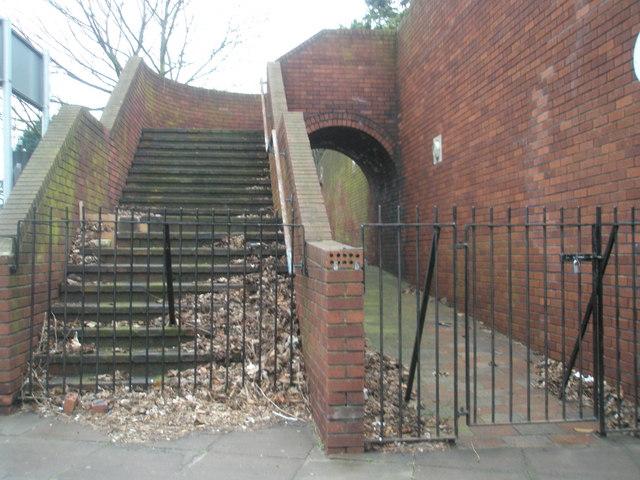 Entrance barred