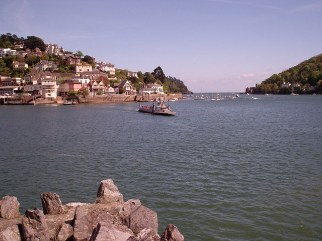 Dartmouth - Ferry across the River Dart