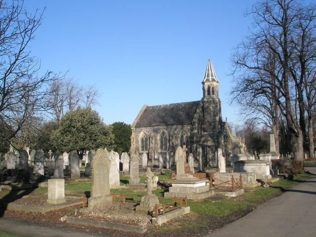 West Chapel, Kingston Cemetery