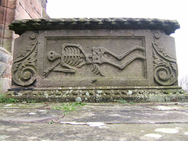 Vault Tombchest of the Hurleston family