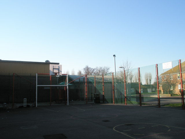 Play area in Whitcombe Gardens