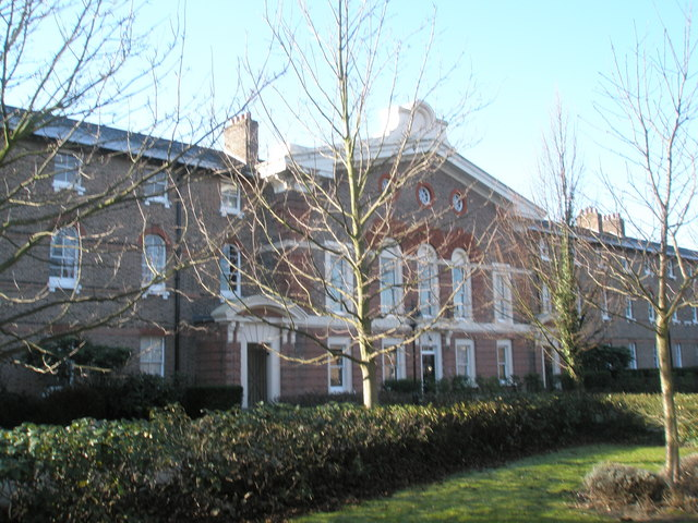 Front of St Mary's Workhouse