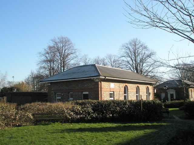Outbuilding of old workhouse