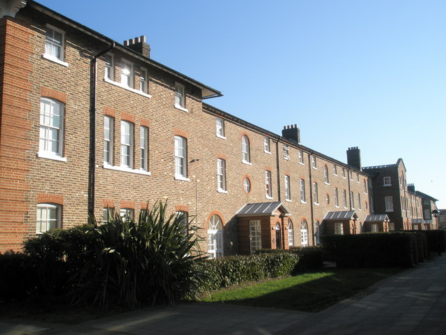 Rear of old workhouse
