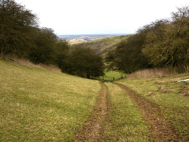 Valley between Salt Hill and Small Down