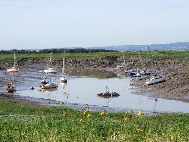 River Brue, Burnham on Sea
