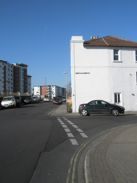 Junction of Claremont Road and Selbourne Terrace