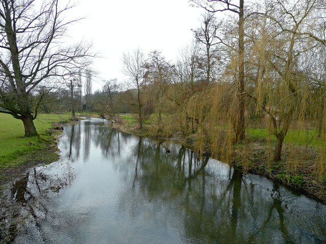 River Great Stour at Godmersham