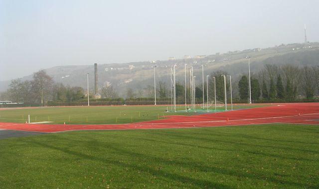 Athletics track etc belonging to Spring Hall Mansions