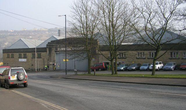 Elmwood Garage - First Bus - Free School Lane
