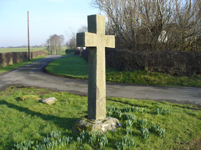 Cross at Fox Lane Ends, Wrea Green