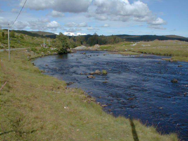 River Gaur on the road to Rannoch Station