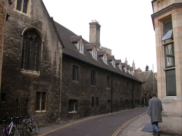 Outside of Old Court, Corpus Christi College