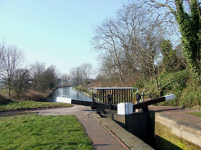 Birmingham Canal below Lock No 17, Wolverhampton
